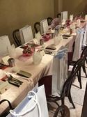 レストランウェディングや二次会、パーティーに☆着席で60名様収容できます。
