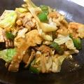 料理メニュー写真豚肉と野菜のピリ辛みそ炒め
