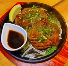 厚切り牛タン/牛ハラミ鉄板焼き