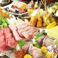 県産食材をふんだんに使用したお料理はお酒との相性も抜群です。