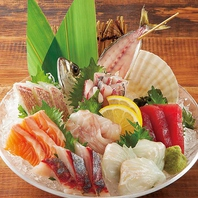 全国の市場で買参権を取得。魚の鮮度が違います!