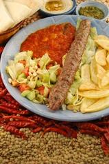 料理メニュー写真ラム シシカバブ (ラムの串焼き)