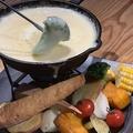 料理メニュー写真マスカルポーネのチーズフォンデュ