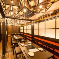 30名収容の宴会お座敷。栄で個室宴会なら居酒屋飯場本店