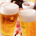飲み放題はコースとセットがおすすめ♪単品焼肉メニューにも+2000円で飲み放題が付けられます!