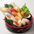 料理メニュー写真本日の大漁寿司盛り