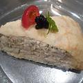 料理メニュー写真ズワイ蟹とクレープのミルフィーユ