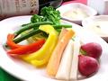 料理メニュー写真野菜の自家製バーニャカウダー