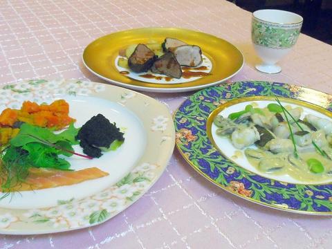 地元でとれた食材を使い、和のエッセンスを取り入れたフレンチのレストラン。