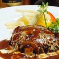 料理メニュー写真黒毛和牛の上質な脂を練り込んだ 真心込めた手ごねハンバーグステーキ