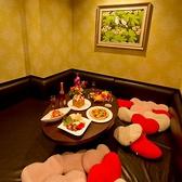 4F パセラリゾーツ 【ふかふかクッション床上げルーム】女子会プランに最適のお部屋。床全面がクッションになっているお部屋。