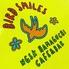cafe&bar BIRD SMILESのロゴ
