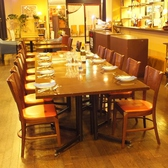 会社宴会などPARTYに◎!!10名様用の席。