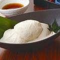 料理メニュー写真豆乳入り濃厚 冷やしおぼろ豆富