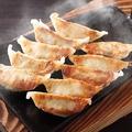 料理メニュー写真軍鶏入り焼き餃子