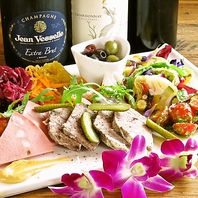 有機野菜やスーパーフードなどカラダにも嬉しい食材使用