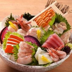 料理メニュー写真■大漁刺身盛り〈4~5人前向け〉