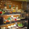 新鮮・美味しいバイキング♪「貴韓房」のバイキングコーナーでは、那珂市の農家より野菜を直送!鮮度にこだわっています♪美味しいお肉はもちろん新鮮で旬な野菜を楽しめるのも「貴韓房」の魅力です^^