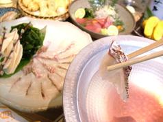 酒と料理のなつのコース写真