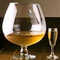 ドデカワイングラスでカンパーイ♪