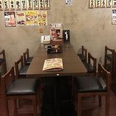 テーブルタイプのお席では、女子会やママ会にもピッタリのお席です。お昼のランチなどで皆さまでゆっくりとお食事や会話などをお楽しみいただくことが出来ます。大通方面で女子会、ママ会をお考えなら是非当店をご利用下さいませ。