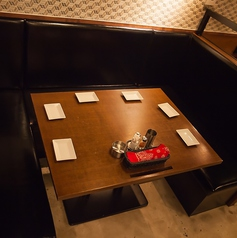 【5~6名様】コの時の座りやすいお席のご用意ございます♪