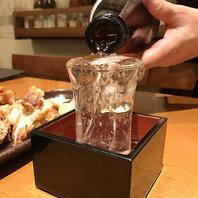 種類豊富な日本酒を取り揃えました