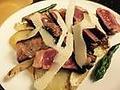 料理メニュー写真牛ロースのステーキ