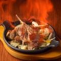 料理メニュー写真ラムチョップのラム酒焼き