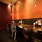おひとり様もOK!カウンター席ございます!ランチはもちろん、仕事終わりの一杯や夕食にもご利用ください。 【ランチは個室中華居酒屋『香香厨房パセオ店』で】
