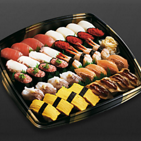 厳選の素材と技。定番メニューから季節限定の品まで本格こだわり寿司が味わえます。