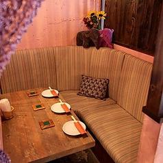 3名から貸切OKの完全個室♪ソファ席です
