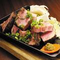料理メニュー写真ローストポークの藁焼き