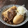 料理メニュー写真肉豆腐 煮玉子入