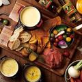 料理メニュー写真選べる肉チーズフォンデュ(3~4人前)