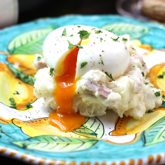 Potato Salad. with Soft boiled egg
