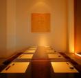 完全個室。落ち着いた雰囲気で接待にも◎各種宴会にもおすすめです。