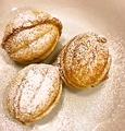 料理メニュー写真くるみクッキー(3個) Печенье (Орешки)