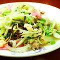 料理メニュー写真皿うどん(細麺・太麺)