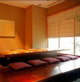 半個室。温かみある優しい雰囲気が漂います