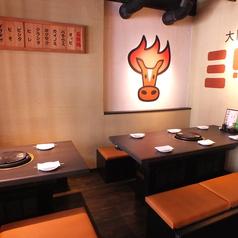 大阪馬焼肉 三馬力 南船場店の雰囲気1