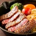 料理メニュー写真仙台牛赤身ステーキ