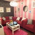 【大船 カラオケ】フランフランの家具で統一した可愛い室内☆