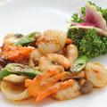 料理メニュー写真豆腐と海老炒め