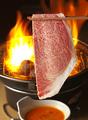 料理メニュー写真ザブトンの炙りすき
