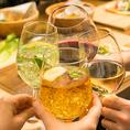 ★豊富な飲み放題★セレンデイピティ―の飲み放題は50種類以上の取り揃え!