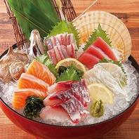 本日の鮮魚入り 刺身5種盛り