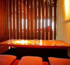 半個室。小宴会、接待にも最適です。