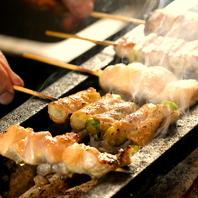備長炭で焼き上げる風味豊かなな串焼!