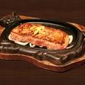 料理メニュー写真特上ニューヨークステーキ 250g